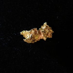 Crystalline Gold Nugget from Northern Nevada Mine 2.55 Grams
